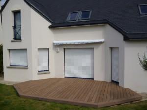 terrasse bois pierre comment r ussir une magnifique terrasse. Black Bedroom Furniture Sets. Home Design Ideas