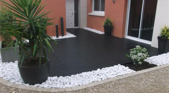 Superb Liminer La Mousse De Sa Terrasse With Modele Terrasse Bois