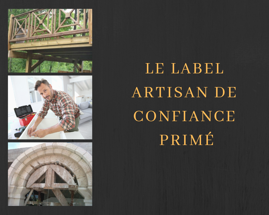 Le label artisan de confiance primé