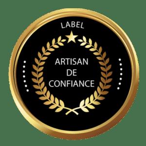 label artisan de confiance