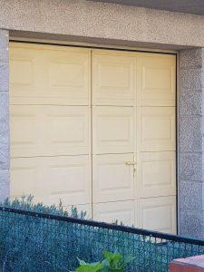 Choix d'une porte de garage aluminium