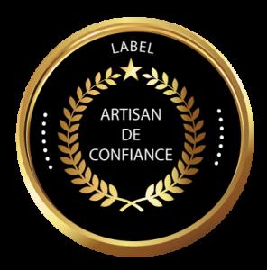 label qualité fiable en tant que charpentier